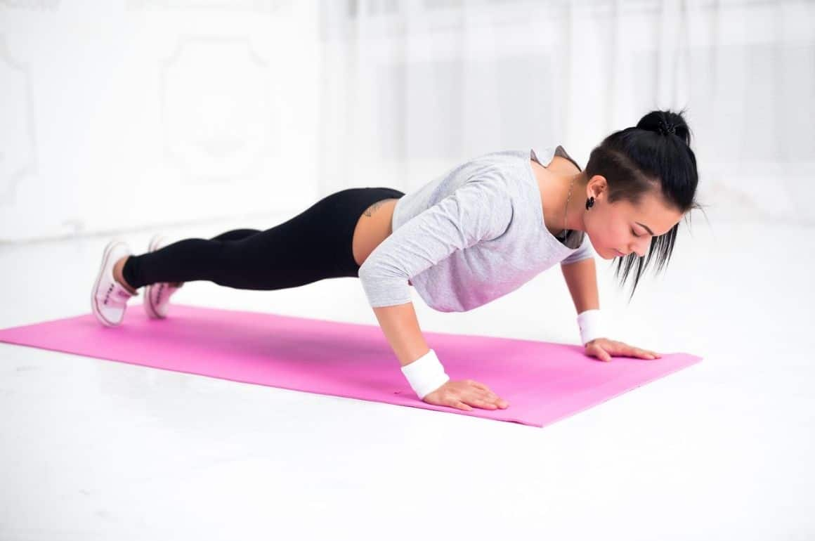 How much of your body weight do you lift in a pushup